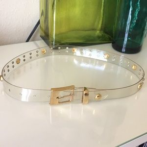 Accessories - Clear Belt